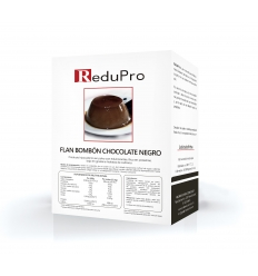 ReduPro FLAN de Bombon de Chocolate, caja 7 sobres
