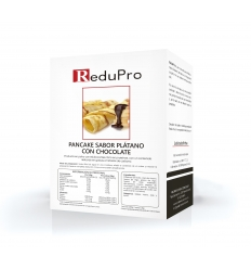 ReduPro CREP Platano-Chocolate, Tortita, Pankaque, caja 7 sobre