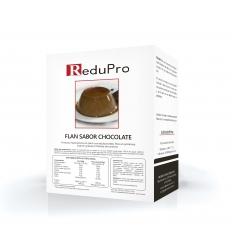 ReduPro FLAN de Chocolate, caja 7 sobres