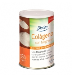 Colageno Manesio vit C y D Dietisa, envase de 350 grs