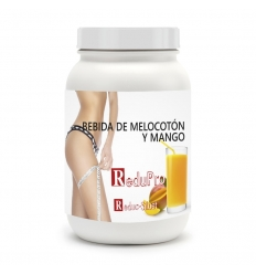 ReduPro Bebida de Melocotón-Mango nueva formula, ENVASE ECONOMICO de 16 raciones