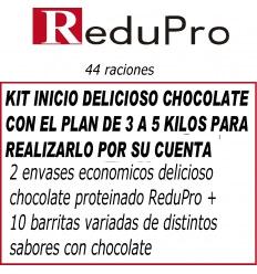 .ReduPro Plan 3 a 5 kilos Chocolate, 46 raciones