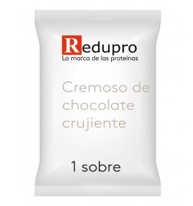 ReduPro CREMOSO de CHOCOLATE CRUJIENTE, 1 sobre. Tambien Mousse o Bebida.