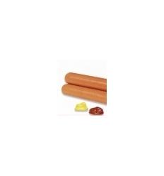 ReduPro Salchichas de Frankfurt sabor bacon, caja 2 raciones + 2 ketchup+ 2 mostaza