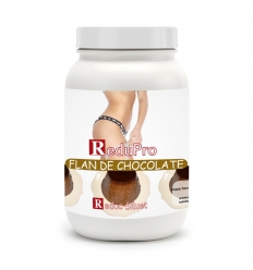 Redupro FLAN (Cremoso, Mousse o Bebida) DE CHOCOLATE envase economico