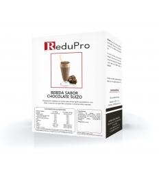 ReduPro Bebida de Chocolate Suizo, caja 7 sobres