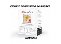 ReduPro CREP Jamón, Tortita Pancake, ENVASE ECONOMICO caja con 20 sobres