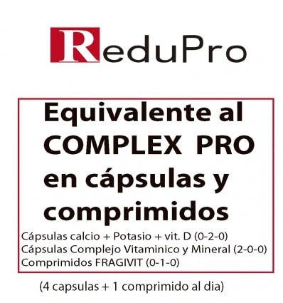 Reduc Siluet Equivalente al COMPLEX PRO en capsulas y comprimidos. 1 mes