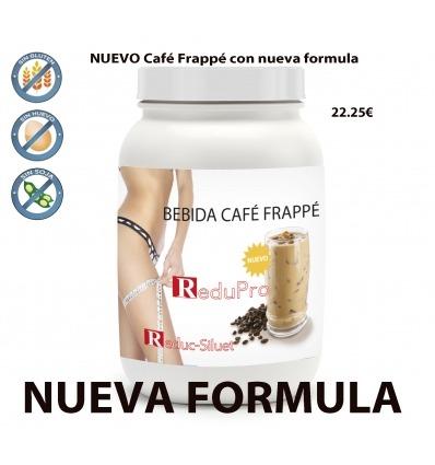 ReduPro NUEVA Bebida de Café Frappé, ENVASE ECONMICO en bote de 16 raciones