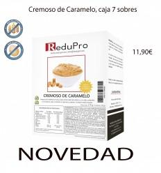 ReduPro Cremoso de Caramelo, caja de 7 sobres