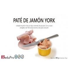 ReduPro Tarrina de Paté untable de Jamón York, 1 tarrina unidosis