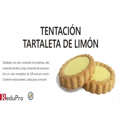 ReduPro Tentacion Tartaleta de Limón, 1 unidad