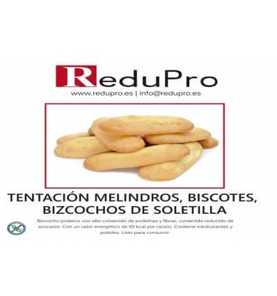 ReduPro Tentacion Melindros, biscuit o bizcocho de soletilla, 1 unidad