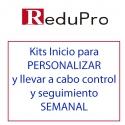 ReduPro Kits inicio para PERSONALIZAR y realizar CONTROL Y SEGUIMIENTO