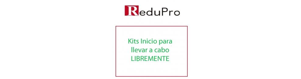 ReduPro Kits inicio para llevarlos a cabo libremente.